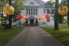 Aussendekoration Sommerfest