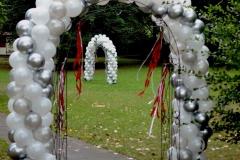 Hochzeitsdekoration Ballontor