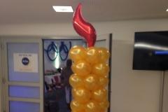 Ballonfigur Flamme
