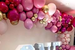 Unregelmäßige Ballongirlande/Ballonbogen
