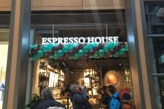 Klassische Ballongirlande Espresso House