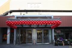 Regelmäßige Ballongirlande CCB City-Center Bergedorf