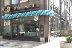 Regelmäßige Ballongirlande Urban Foodie