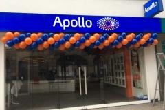 Regelmäßige Ballongirlande Apollo