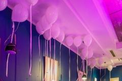 Raumdekoration Au Quai Restaurant mit Ballons