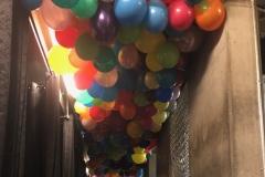 bunter Ballonhimmel