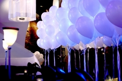 Raumdekoration East Hotel Hamburg mit Ballons