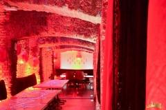 Tisch- und Raumdekoration bei Veranstaltung im East Hotel