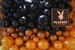 organische Ballonwand für Playboy