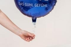 Marketingaktion für Guhl mit Ballonversand