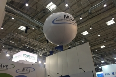 Messestand Ballon