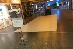 Teppichverlegung weißer Teppich