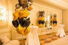 Silvester Dekoration Hotel Vier Jahreszeiten