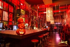 Halloween Dekoration East Hotel Hamburg