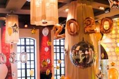 Silvesterdekoration 2020 im Hotel East