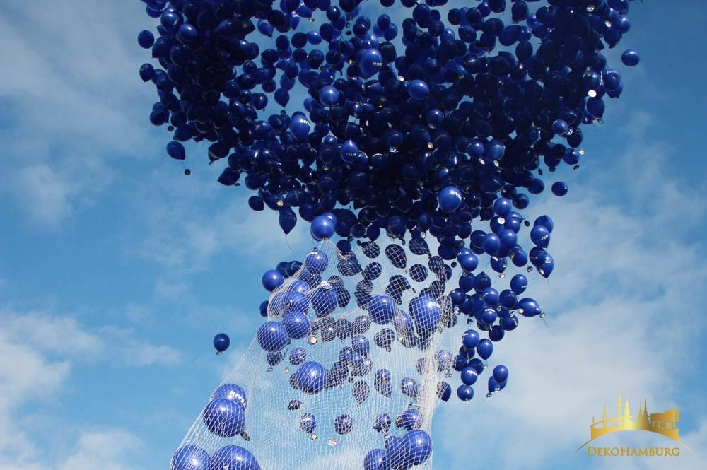 Nivea Ballontraube wird gestartet