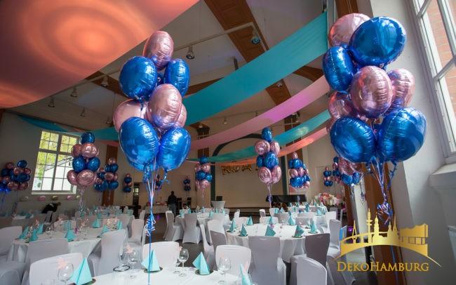 Ballonsträuße auf Bat Mitzwa Dekoration